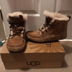 UGG ankle snow boots